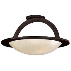 Cirque Semi-Flushmount by Corbett Lighting