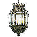 Montrachet Outdoor Hanging Lantern by Corbett Lighting