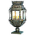 Montrachet Outdoor Pier Mount Lantern by Corbett Lighting