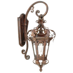 Regency Outdoor Hanging Wall Sconce by Corbett Lighting