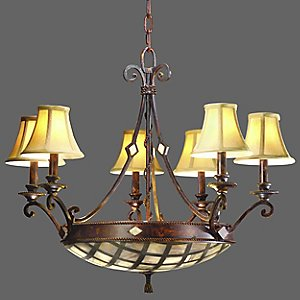 St. Croix Chandelier by Corbett Lighting