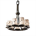 LumenAria Dakota 9 Light Chandelier by Justice Design