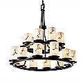 LumenAria Dakota Two-Tier Chandelier by Justice Design