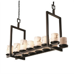 LumenAria Dakota Double Bar Linear Suspension by Justice Design