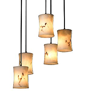 LumenAria 5 Light Cluster Pendant by Justice Design