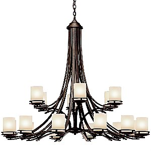 Hendrik 2-Tier Chandelier by Kichler