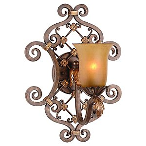Del Mar 1 Light Wall Sconce by Corbett Lighting