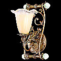 Fiori 1 Light Wall Sconce by Corbett Lighting