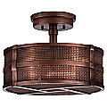 Copper Veil No. 740640 Semi Flushmount by Fine Art Lamps
