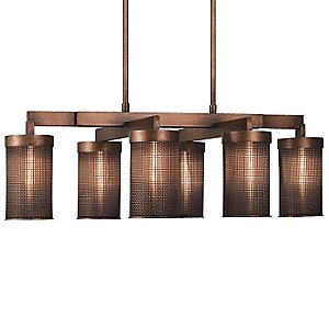 Copper Veil No. 741240 Linear Suspension by Fine Art Lamps