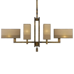 Perspectives No. 734040 Chandelier by Fine Art Lamps