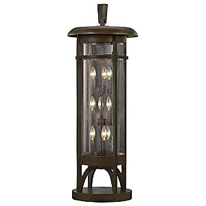 Aspen No. 413383 Pier Mount by Fine Art Lamps