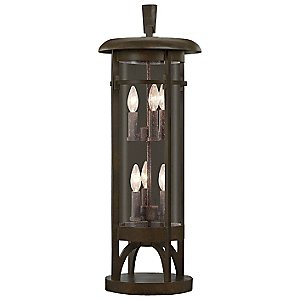 Aspen No 413283 Pier Mount by Fine Art Lamps