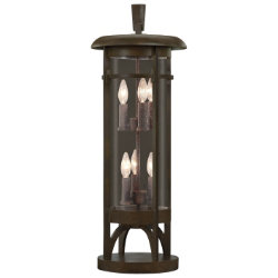 Aspen No. 413283 Pier Mount by Fine Art Lamps