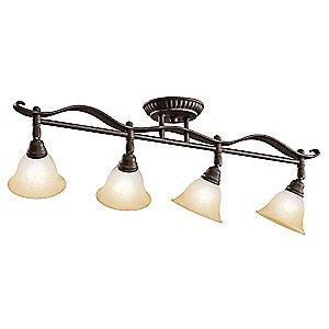 Pomeroy Adjustable Rail Light by Kichler