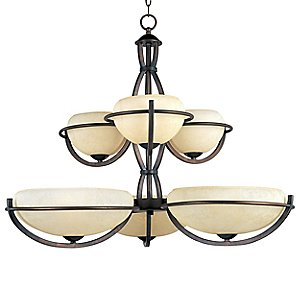 Cupola 2-Tier Chandelier by Maxim Lighting