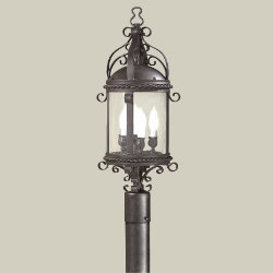 Pamplona Outdoor Post Mount by Troy Lighting