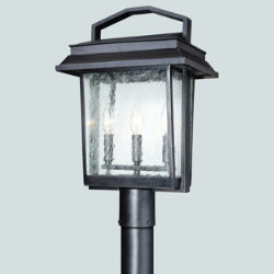 Logan Outdoor Postmount by Troy Lighting