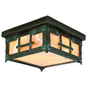 Oak Knoll Outdoor Flushmount No. 9400-9401 by Troy Lighting