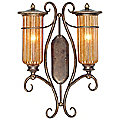 Lido Outdoor Two Light Wall Sconce by Troy Lighting