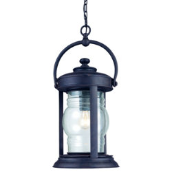 Station Square Outdoor Pendant by Troy Lighting