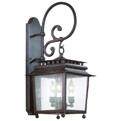 St. Germaine Outdoor Wall Sconce No. 898 by Troy Lighting