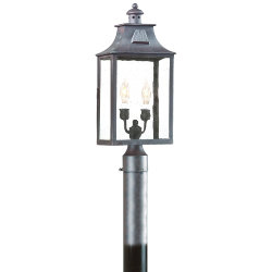 Newton Outdoor Postmount by Troy Lighting