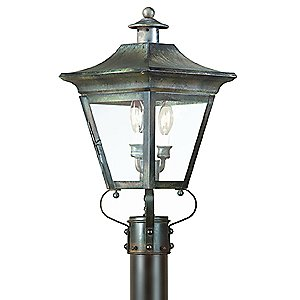 Oxford Outdoor Postmount by Troy Lighting