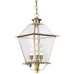 Montgomery Outdoor Pendant with Glass Top by Troy Lighting