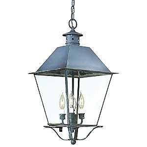 Montgomery Outdoor Pendant with Metal Top by Troy Lighting