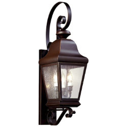 Carlton Outdoor Wall Sconce with Scroll by Troy Lighting