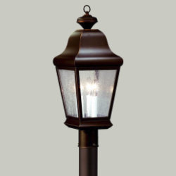 Carlton Outdoor Postmount by Troy Lighting