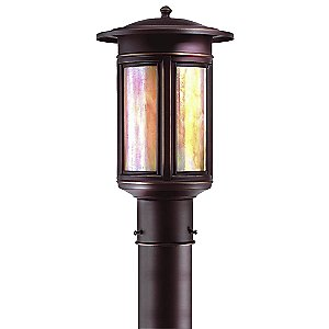 Highland Park Outdoor Postmount by Troy Lighting