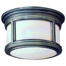 Highland Park Outdoor Flushmount-Fluorescent by Troy Lighting