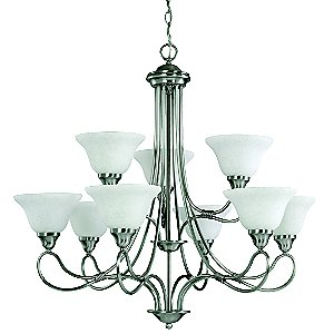 Stafford 2-Tier Chandelier by Kichler