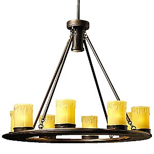 Oak Trail Outdoor Chandelier by Kichler