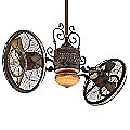 Traditional Gyro Ceiling Fan by Minka Aire