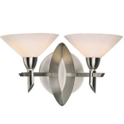 Turbo Double Wall Sconce by Illuminating Experiences