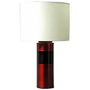 Uptown Cylinder Table Lamp by Babette Holland