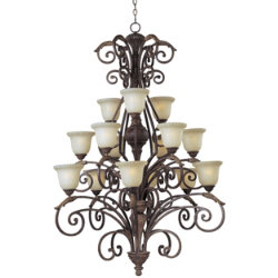 Beaumont 3-Tier Chandelier by Maxim Lighting