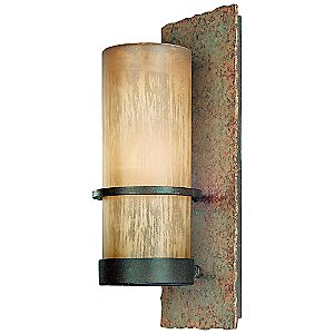 Bamboo Outdoor Wall Sconce by Troy Lighting