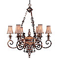 Aston Court Seven Light Chandelier by Minka Lavery