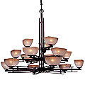 Lineage Three-Tier Chandelier by Minka Lavery