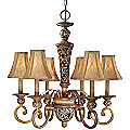 Salon Grand Six Light Chandelier by Minka Lavery