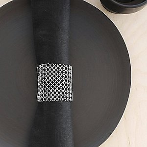 Raymaille Napkin Rings Set of 2 by Chilewich