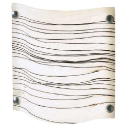 Zebra Sconce by Condor Lighting