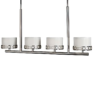 Astoria Four-Light Linear Suspension by Stonegate Designs