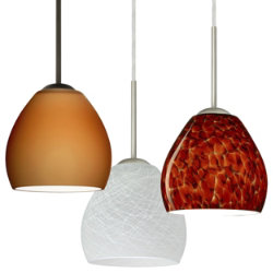 Bolla Mini Pendant by Besa Lighting