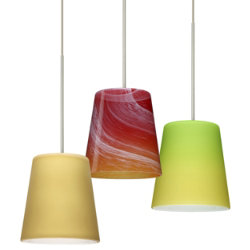 Canto 5 Mini Pendant by Besa Lighting