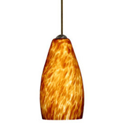 Karli Mini Pendant by Besa Lighting